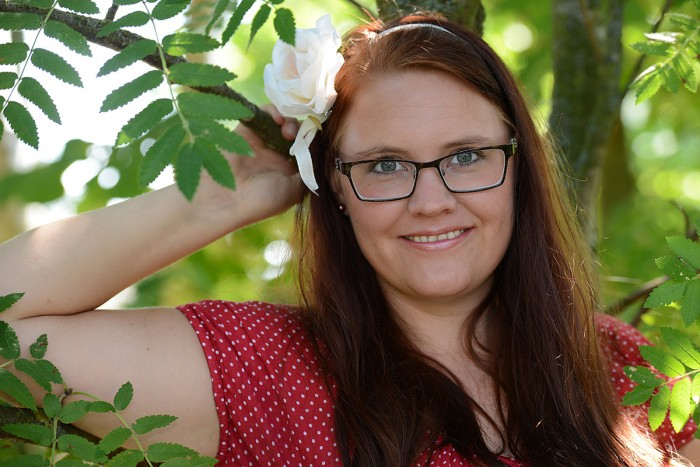 Eva Hallkvist-tonår